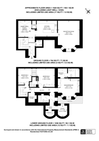 Large floorplan for Norland Square, Holland Park, W11
