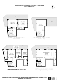 Large floorplan for Dollar Bay Place, Canary Wharf, E14