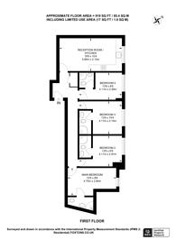 Large floorplan for Clarence Street, Kingston, KT1
