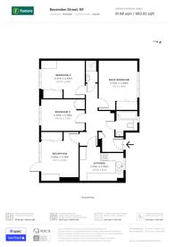 Large floorplan for Bevenden Street, Hoxton, N1