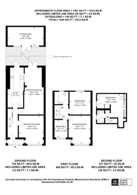 Large floorplan for Garner Road, Walthamstow, E17