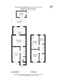Large floorplan for Freeman Road, Morden, SM4