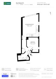 Large floorplan for Gun Street, Spitalfields, E1