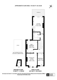 Large floorplan for Harlescott Road, Nunhead, SE15
