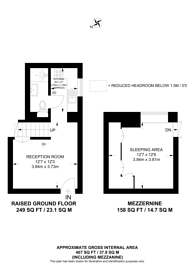 Large floorplan for Kimmerston House, Westminster, SW1P