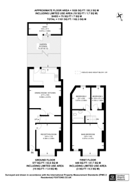 Large floorplan for Gassiot Road, Tooting, SW17