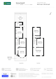 Large floorplan for Ramsay Road, Forest Gate, E7