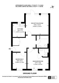 Large floorplan for Harry Close, Croydon, CR0
