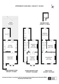 Large floorplan for Killowen Road, Victoria Park, E9