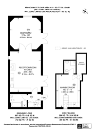 Large floorplan for Knowle Lane, Cranleigh, GU6