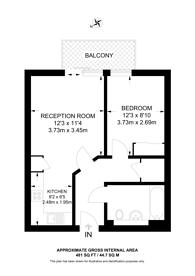 Large floorplan for Major Draper Street, Woolwich, SE18