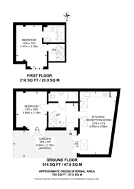 Large floorplan for Balham High Road, Balham, London, SW12, Balham, SW12