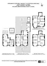 Large floorplan for Talbot Road, N6, Highgate, N6