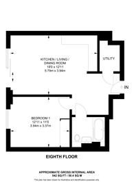 Large floorplan for Eden Grove, Staines, TW18