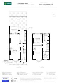 Large floorplan for Pordern Road, Brixton, SW2