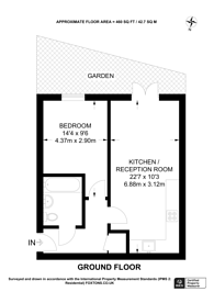 Large floorplan for Storehouse Mews, Canary Wharf, E14
