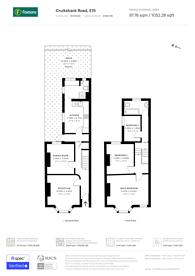 Large floorplan for Cruikshank Road, Stratford, E15