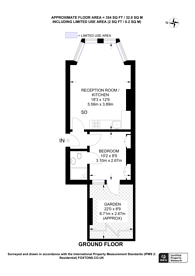 Large floorplan for Riggindale Road, Streatham Park, SW16