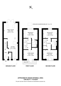 Large floorplan for Reading, Reading, RG2