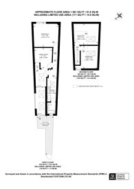 Large floorplan for Ballards Lane, Finchley Central, N3