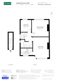 Large floorplan for Oakleigh Crescent, Whetstone, N20