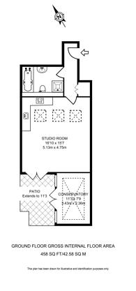 Large floorplan for Battersea High Street, Clapham Junction, SW11