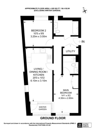Large floorplan for Wilkinson Close, Dollis Hill, NW2