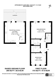 Large floorplan for Amsterdam Road, Canary Wharf, E14