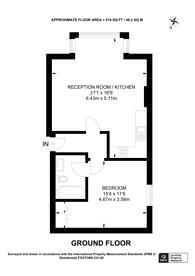 Large floorplan for Hindes Road, Harrow, HA1