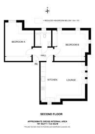 Large floorplan for Malden Road, New Malden, KT3