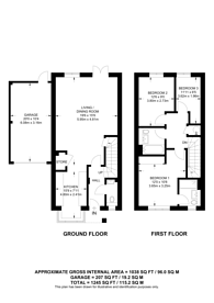 Large floorplan for Fleet, Hampshire, GU51
