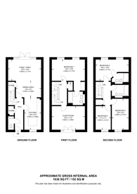 Large floorplan for Fleet, Hampshire, GU51
