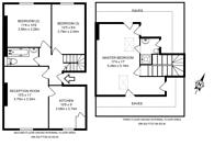 Large floorplan for Harvard Road, Chiswick, W4