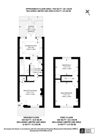 Large floorplan for Cowick Road, Tooting, SW17