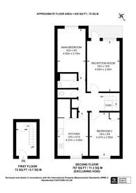 Large floorplan for Pennack Road, Peckham, SE15
