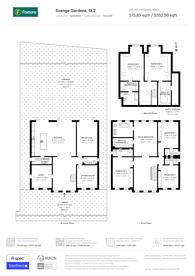 Large floorplan for Grange Gardens, Berkshire, SL2