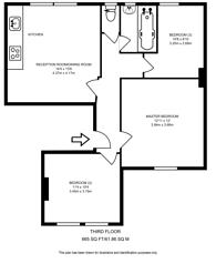 Large floorplan for Cargreen Road, South Norwood, SE25