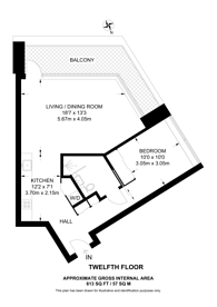 Large floorplan for Hoxton Press, Hoxton, N1