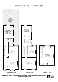 Large floorplan for Purves Road, Kensal Green, NW10