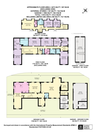 Large floorplan for Dartmouth House, Grove Park, W4