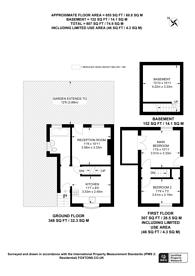 Large floorplan for Mount Pleasant, Guildford, GU2