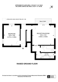 Large floorplan for Anerley Park, Anerley, SE20