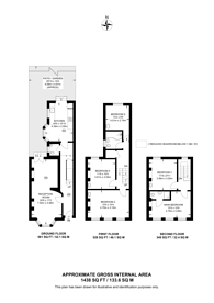 Large floorplan for Tradescant Road, Vauxhall, SW8