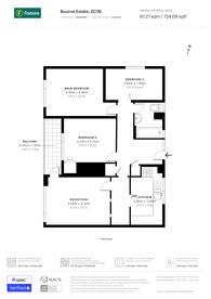 Large floorplan for Portpool Lane, Holborn, EC1N