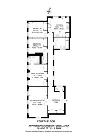 Large floorplan for Baker Street, Baker Street, NW1