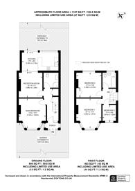 Large floorplan for Watford Way, Hendon, NW4