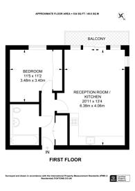 Large floorplan for Dowding Drive, Kidbrooke, SE9