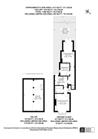 Large floorplan for Elmers End Road, Penge, SE20