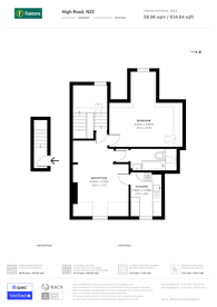 Large floorplan for High Road, Wood Green, N22