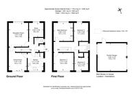 Large floorplan for Napier Gardens, Boxgrove, GU1